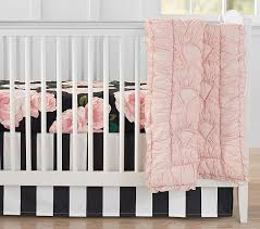Roses Bedding Sets The Emily Meritt Bed Of Roses Baby Bedding Sets Pottery Barn