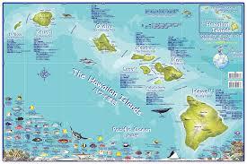 map of hawaii island hawaiian island chain map in japanese franko s fabulous maps of