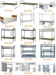 steel double decker iron beds double cot kids children bunk