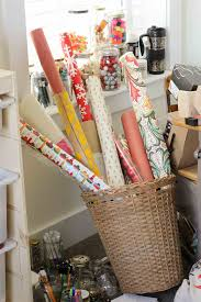Wrapping Paper Wall Mount Diy Vertical Wrapping Paper Storage Idea Ikea Hack