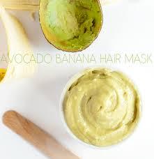 banana hair diy avocado banana hair mask pretty plain janes