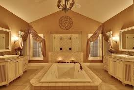 traditional master bathroom with wall sconce by rick colburn