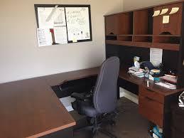 bestar innova u shaped workstation desk bestar innova u shaped workstation w granada office chair multi