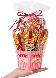 popcorn baskets of 12 mini valentines popcorn gift baskets popcornopolis