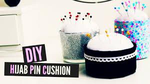 Making Pin Cushions Diy Hijab Pin Cushion Rangement épingles à Hijab Youtube