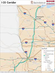 I 35 Map I 35 U2014 Mid America Freight Coalition