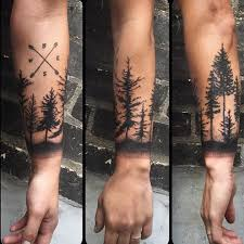 lower arm black ink forest tree golfian com