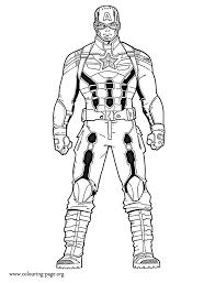 Captain America Captain America The Winter Soldier Coloring Page Captain America Coloring Page
