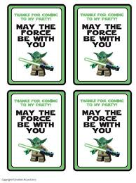 wars gift bags customized wars party printables gift bag tags party