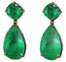 emerald drop earrings lorraine schwartz emerald drop earrings who use a