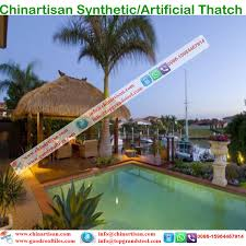 Mexican Thatch Roofing by Synthetic Palapa Thatch Synthetic Pe Palm Gr Thatch For Palapa