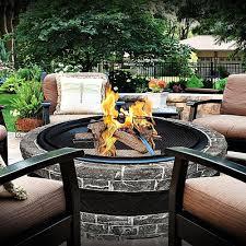 Modern Back Yard Modern Backyard Fire Pit Design And Ideas