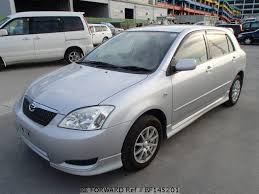 2003 used toyota corolla used 2003 toyota corolla runx s ua zze122 for sale bf145201 be