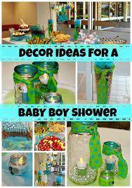 baby boy shower centerpieces diy boy baby shower decor