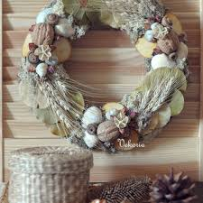 christmas rustic handmade home decor from artwithice on etsy