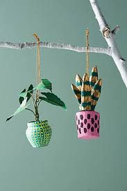mint holiday ornaments anthropologie