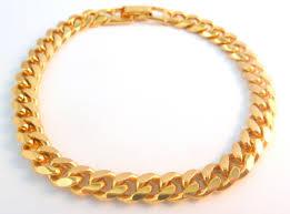 gold tone chain link bracelet images Vintage gold tone napier chunky curb bracelet jpg