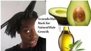 diy avocado hair mask for natural hair growth youtube