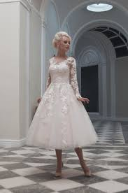 wedding dress shops uk 25 of the most beautiful tea length wedding dresses with