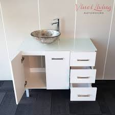 Glass Top Vanity Bathroom by Bathroom Cabinets Vanity Freestanding Bathroom Cabinet White