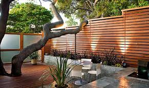 elegant landscape ideas for privacy between houses backyard