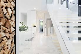 interior glass banister flooring orlando modern stair railing