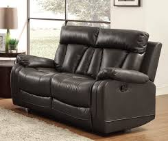 Stylish Recliner by Leather Reclining Sofa Living Room Leather Power Reclining Sofa