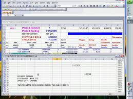 payroll checks using excel ready to print youtube