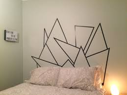 best 25 washi tape headboard ideas on pinterest washi tape wall washi tape headboard but use different colors