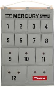Wall Organiser Mercury Rectangular Wall Storage Canvas Hanging Multi Pocket Organiser
