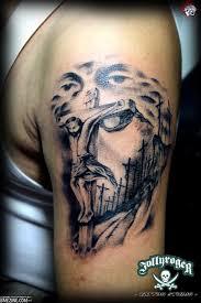 laser tato di jogja tattoo by eric agathon from jolly roger tattoo studio in yogyakarta
