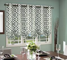 Tie Up Curtains Trellis Insulated Grommet Top Curtain Thermal Tie Up Panel