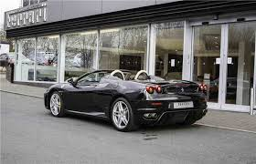 black f430 used f430 convertible petrol in black from stratstone