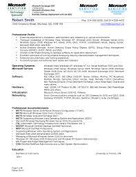 Desktop Support Resume Samples by Download Windows Server Administrator Resume Sample