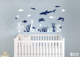 under the sea nursery wall decal k239 u2013 stampmagick wall decals
