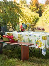 wine country tablecloth attic sale linens u0026 kitchen attic
