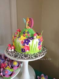 tinkerbell cake tinkerbell cake and cupcakes