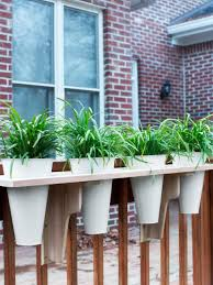 how to build a window flower box how to make a deck rail planter hgtv