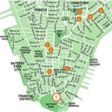 downtown manhattan map our of victory and st andrew formerly our of victory