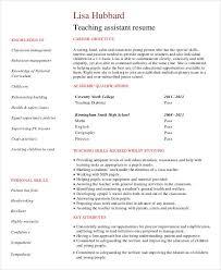 Sample Resume For Assistant Teacher In Preschools by 40 Modern Teacher Resumes Free U0026 Premium Templates