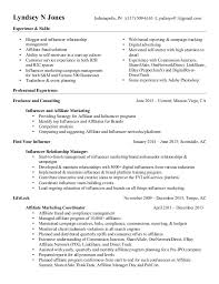 Resume Ongoing Education Lyndsey Jones Resume Affiliate And Influencer Marketing In