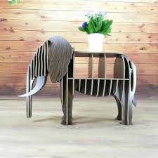 best wood for bookcase diy wood elephant bookshelf bookcase nordic style animal multi