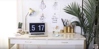 Diy Maak Een Million Dollar Desk Van Je Ikea Bureau Bureau Diy