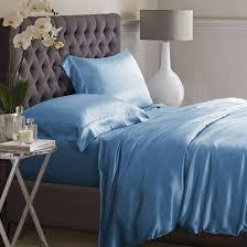 Dark Blue Duvet Dark Blue Silk Duvet Cover