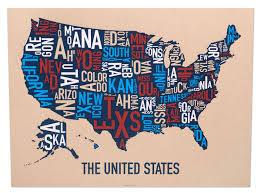 map of us states poster united states map 24 x 18 classic black white poster united