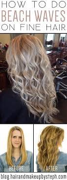 perm photos for thin hair beach waves for fine hair 38 hairstyles for thin hair to add