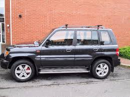 2004 mitsubishi shogun pinin gdi warrior grey 4x4 estate petrol