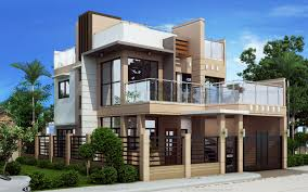 two storey house two storey house with firewall home interior design with plans