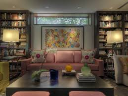 cozy basement living room contemporary with recessed lighting
