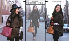 how to style a poncho sweater gloves for short fingers extra